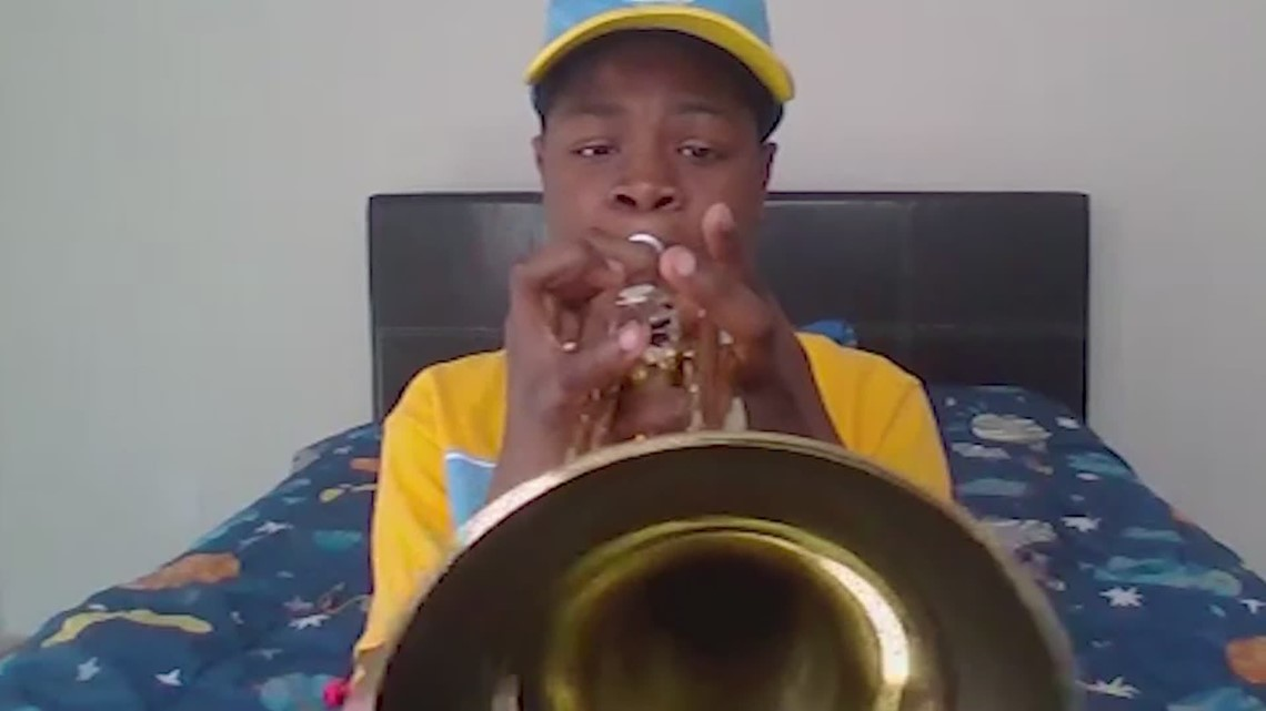 Spring ISD student becomes honorary band member at Southern University