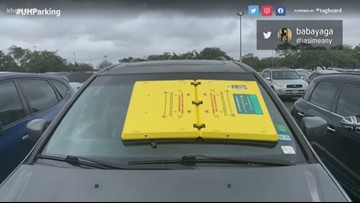 UH's new 'boot' device for parking violators