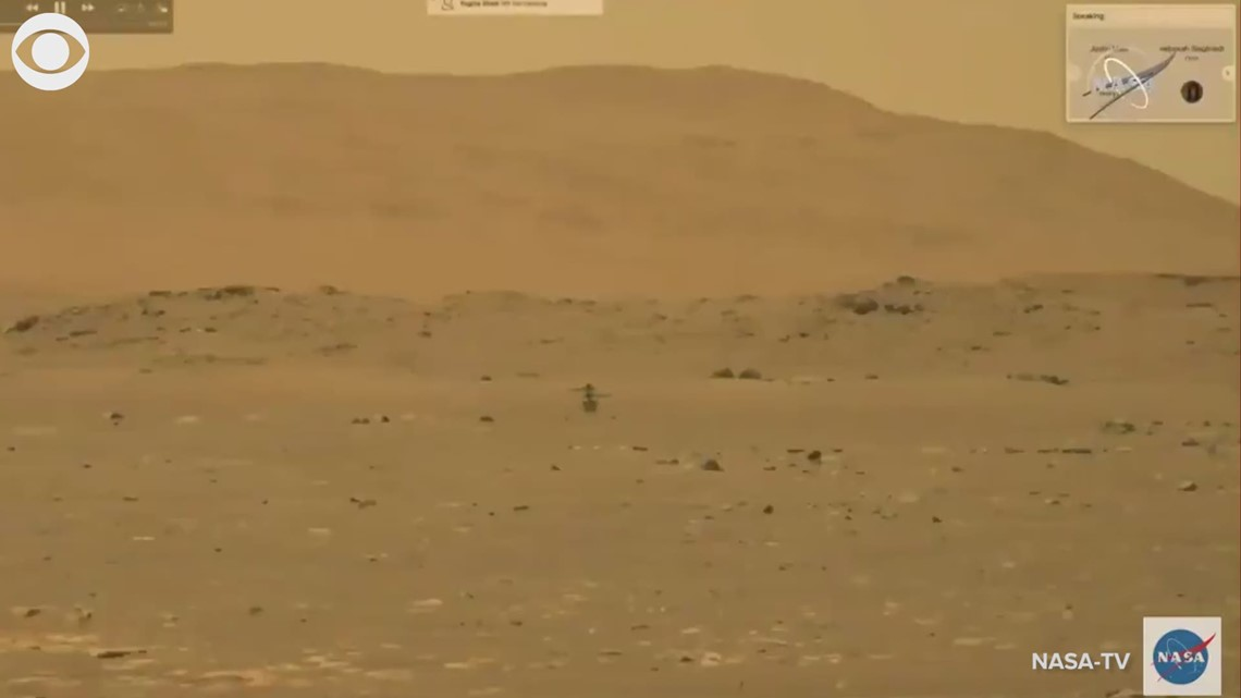 Ingenuity helicopter makes history flying on Mars
