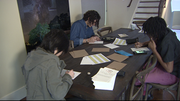 College students rediscover the joy of handwritten letters