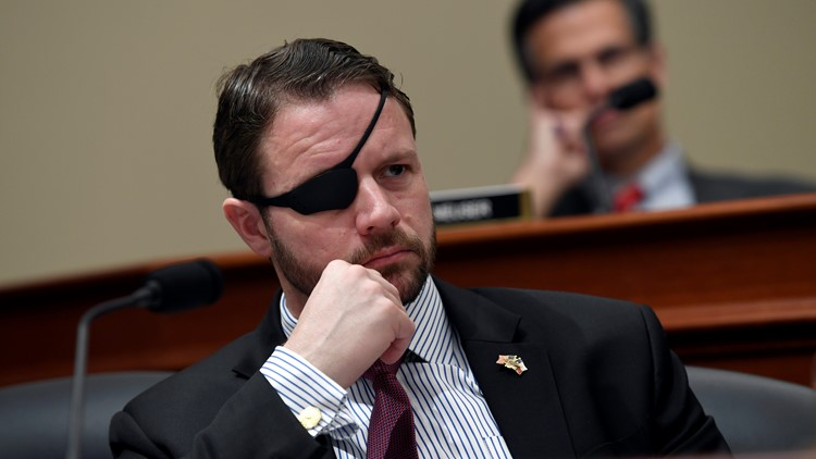 U.S. Rep. Dan Crenshaw temporally blinded after emergency eye surgery
