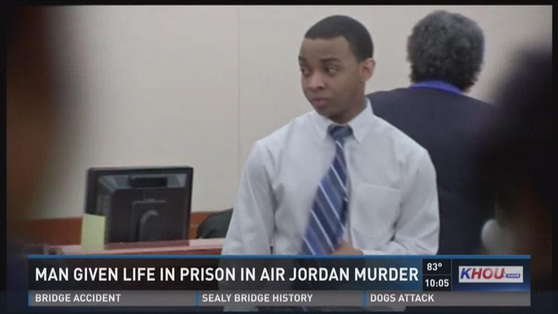best website 385a3 fece6 Man given life in prison in Air Jordan murder   khou.com