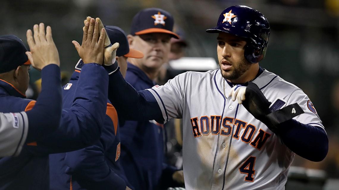 Montas pitches A's past Houston to end Astros streak