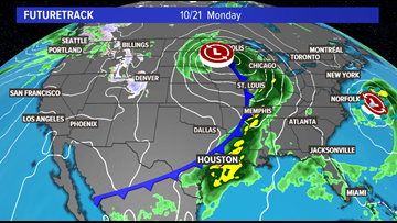 Baseball themed forecast: strong storms Monday will lead to homerun weather mid week