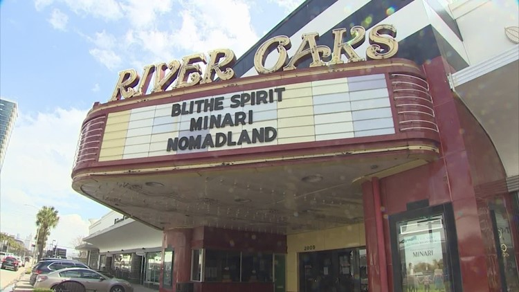 Tonight could be the final showing at Houston's landmark River Oaks Theatre