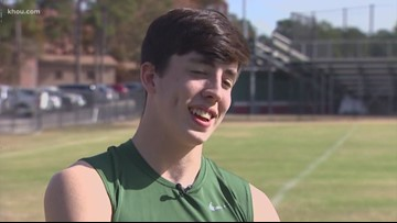 Athlete Of The Week: The Woodlands' Fabrizio Pinton