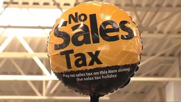 Shoppers pack stores for Tax-Free Weekend