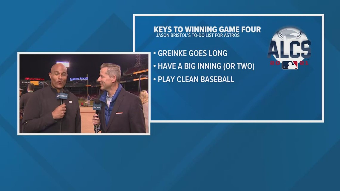 Astros-Red Sox Game 4 ALCS keys to the game