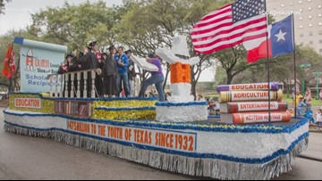 Rodeo scholars to be parade grand marshals