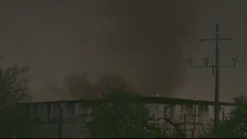 Raw Video: Chemical tank fire extinguished at Deer Park facility