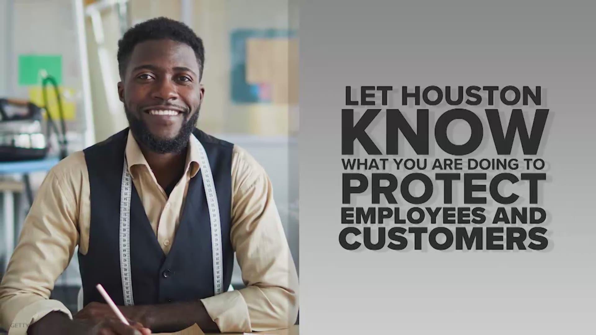 Houston Businesses Opening Safely Khou Com