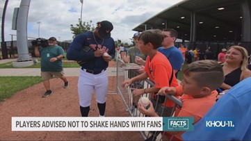Houston Astros make changes to spring training autograph sessions amid coronavirus concerns
