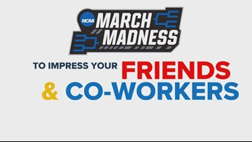 March Madness stuff to impress your friends and coworkers