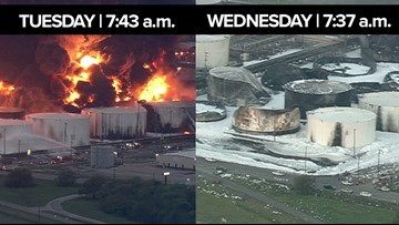 LIVE COVERAGE: ITC update on extinguished Deer Park tank fire