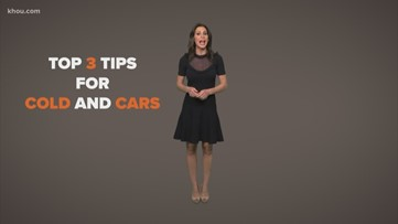 Top 3 tips for cold weather and cars