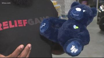 Local rapper Trae tha Truth hopes teddy bear will change lives