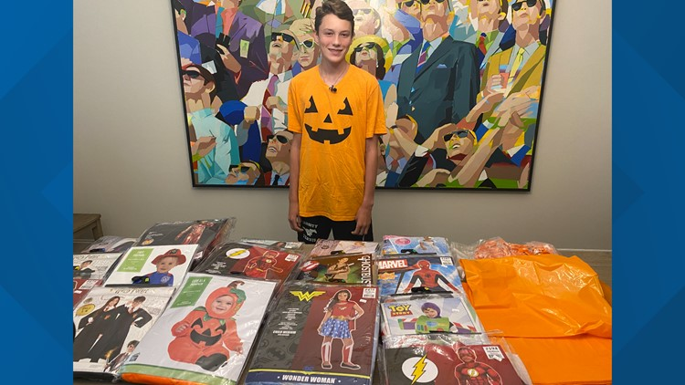Texans Helping Texans | Y'alloween, organization created by Houston teen, aims to provide Halloween costumes for all y'all