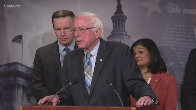 Bernie Sanders is coming to Houston for 2020 presidential campaign