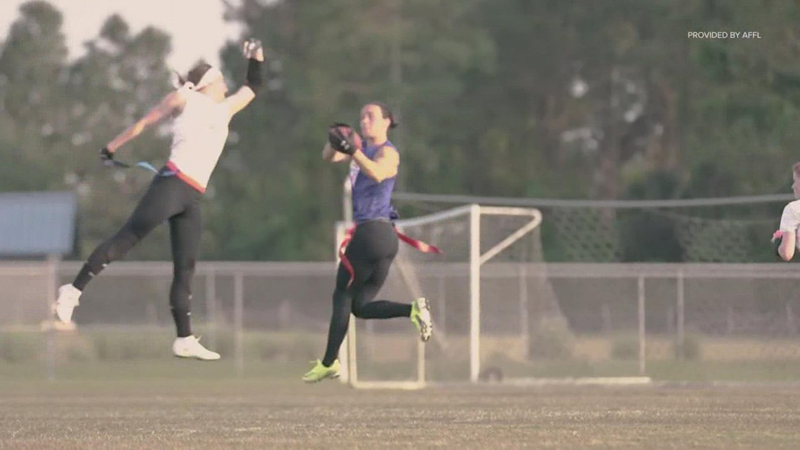 Record prize money on the line this weekend in women's flag football finals in Houston