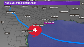 Severe hurricane destroyed 'Indianola' 133 years ago, a fate Galveston would share 14 years later