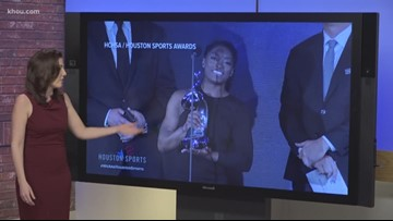 Congrats, Simone! Biles named Houston's Athlete of the Year