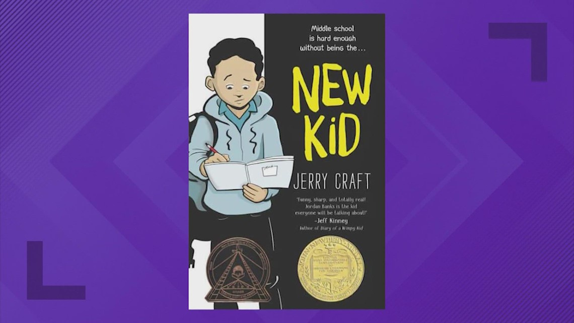 Katy ISD puts reinstates book by author Jerry Craft