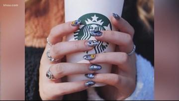 Starbucks offering pumpkin spice nail stickers