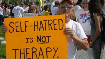Utah bans discredited practice of conversion therapy for LGBTQ children