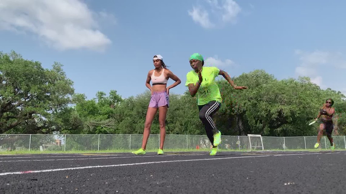 Mashall HS track team finding ways to stay on top