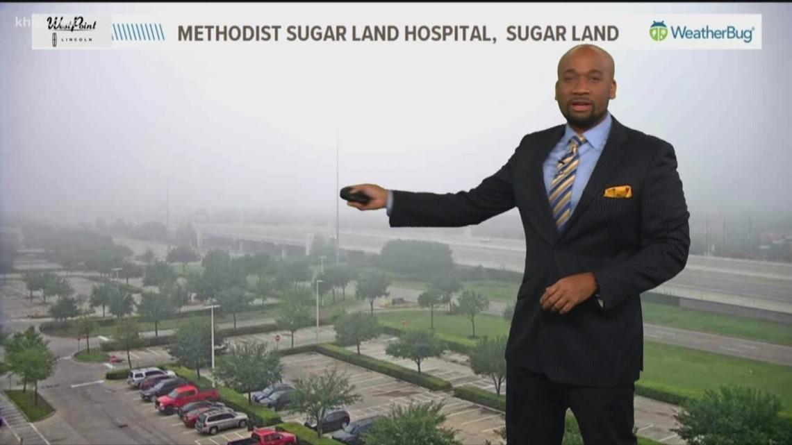 Houston Forecast: Misty & gray conditions