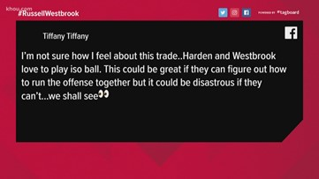 Houstonians react to Rockets' trade for Russell Westbrook