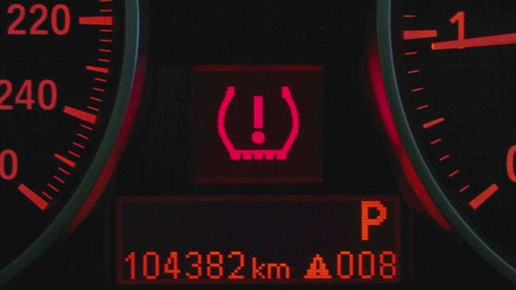 Why does your tire warning light go on when the temperature changes?