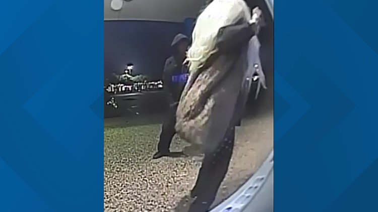 New surveillance video, images show suspect accused of shooting woman to death at SE Houston ATM