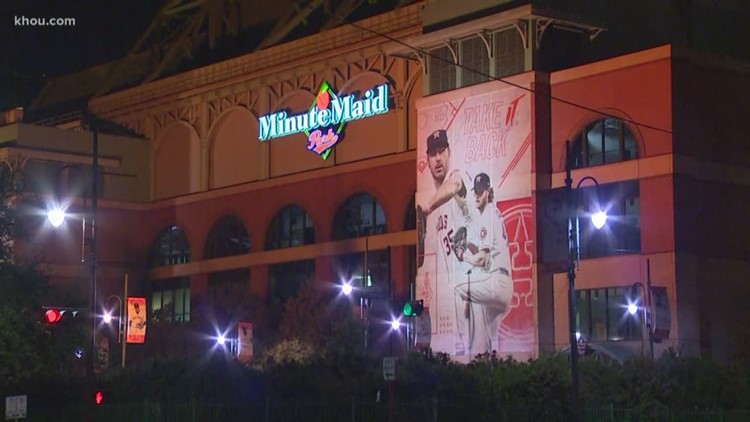 Astros fans prepare for Game 5 of ALDS