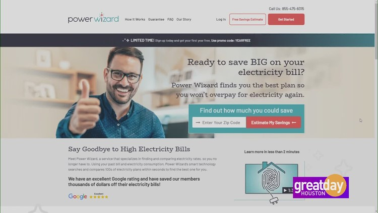 Power up a low electricity rate with Power Wizard