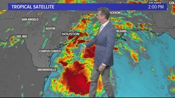 Friday Houston weather radar forecast 7 pm update