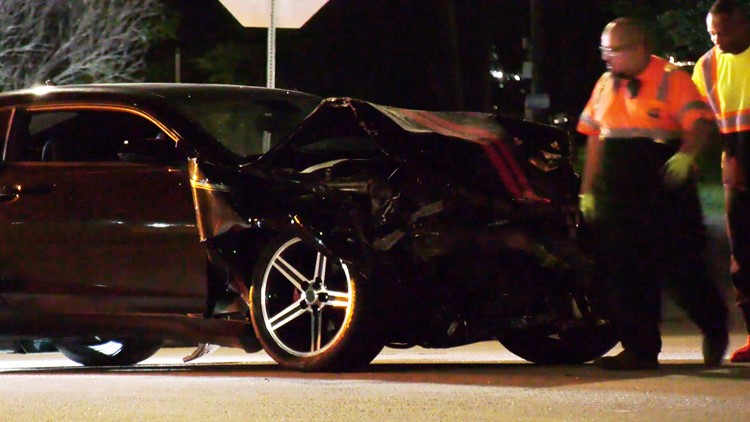 Houston child critically hurt in possible street racing hit-and-run, police say | Raw scene video