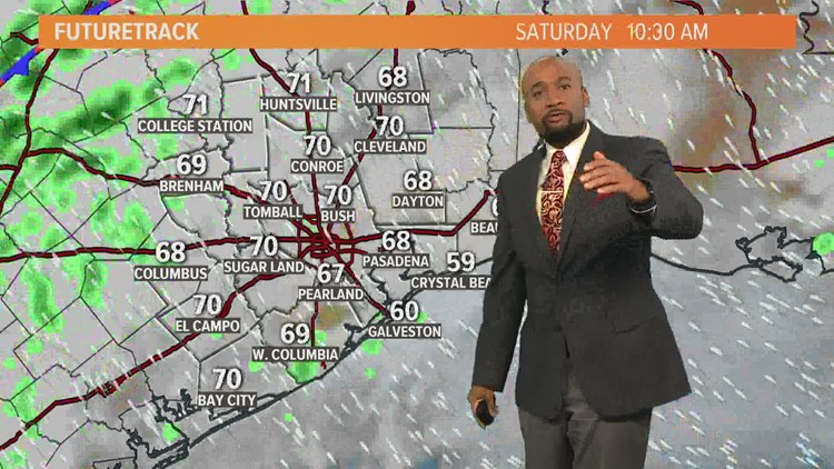 Houston Forecast: Cloudy, foggy & warm this weekend