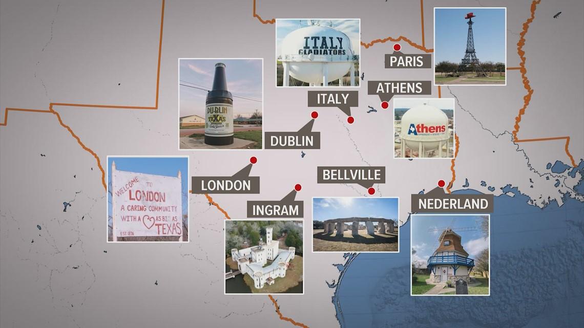 Take a European vacation ... in Texas