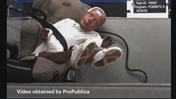 Report: Crash test dummy video raises questions about booster seat safety