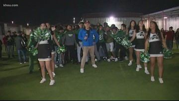 Friday pep rally: Austin High School