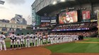 Astros pay tribute to President George H.W. Bush, Barbara Bush before home opener