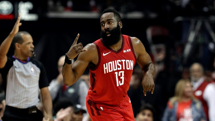 James Harden named unanimous selection for All-NBA team