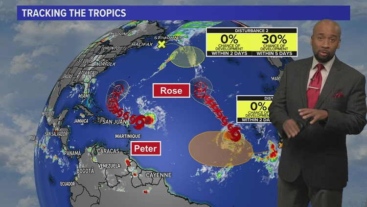 Houston forecast: Keeping an eye on the tropics as a cold front heads our way