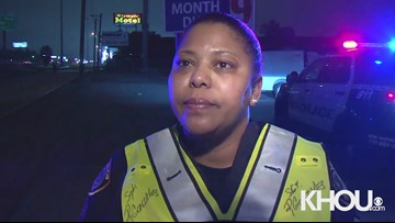 Raw: Police discuss fatal hit-and-run on the North Freeway early Friday