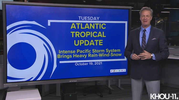 Tropical update: Forecast update on huge Pacific storm
