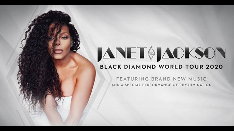 Janet Jackson new tour
