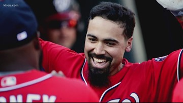 Houston native Anthony Rendon agrees to seven-year $245M deal with Los Angeles Angels