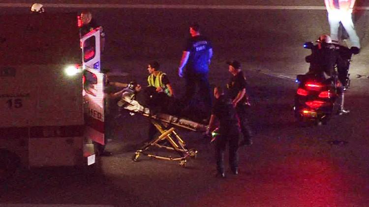 HPD officer hurt in crash on I-45 North