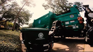 2.6M pounds of Houston recyclables tossed in landfill